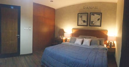 Interior Residential - Pomentia Residence:  Kamar Tidur by RANAH