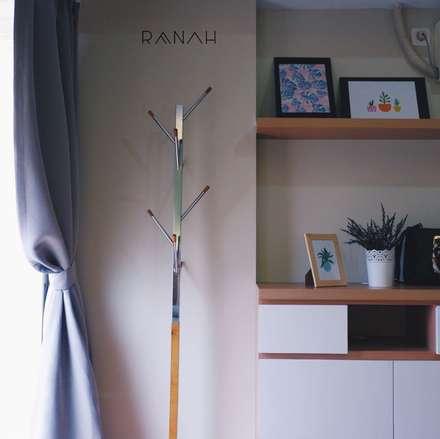 Studio Apartment - Margonda Residence 2:  Kamar Tidur by RANAH
