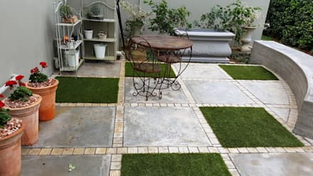 Waterkloof:  Patios by Gorgeous Gardens