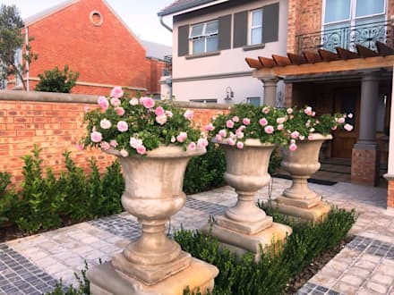New garden for Nico and Jolande: mediterranean Garden by Gorgeous Gardens