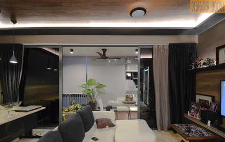 Balcony: minimalistic Garden by Designer House