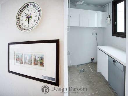 modern Garage/shed by Design Daroom 디자인다룸