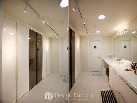 광장동 현대홈타운: Design Daroom 디자인다룸의  드레스 룸