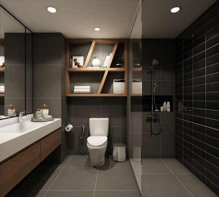 :  ห้องน้ำ by 22Augustudio