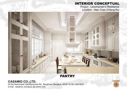 :  ห้องครัว by CASAMIO Co.,Ltd.