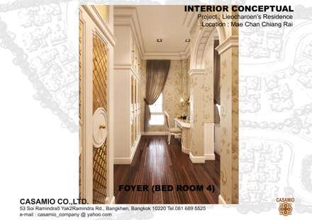 :  ห้องแต่งตัว by CASAMIO Co.,Ltd.