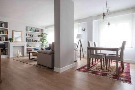: scandinavian Dining room by Espacio Sutil