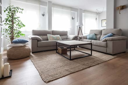 : scandinavian Living room by Espacio Sutil