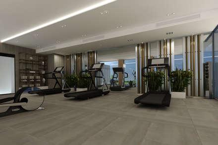 Fitnessraum modern  Modern Fitness Odası Fikir & İpuçları | homify