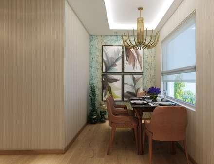 EZGİ AYDOGDU İçmimarlık Danışmanlık ve İnşaat Hiz. – Ataşehir_Konut: modern tarz Yemek Odası