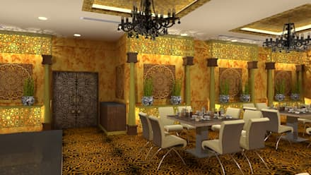 Banquet hall:  Event venues by Gurooji Design