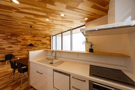 haus-duo: 一級建築士事務所hausが手掛けたキッチンです。