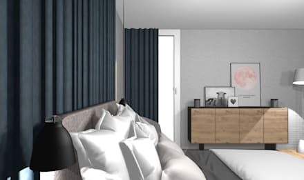 Modernes Schlafzimmer : Skandinavische Schlafzimmer Von Wohnly