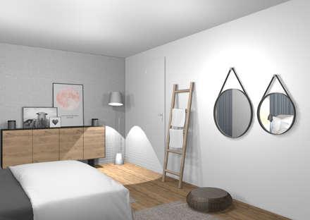 Schlafzimmer skandinavischer stil  Skandinavische Schlafzimmer Einrichtungsideen und Bilder | homify
