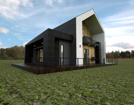 보령전원주택: 디자인 이업의  주택