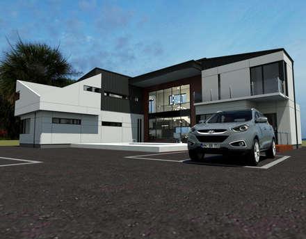 경기도 양평 K주택: 디자인 이업의  주택