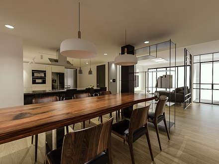 전주 주택 리모델링: 디자인 이업의  주방