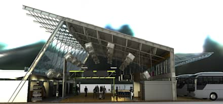 Airports by Castillo Merlin Arquitectura