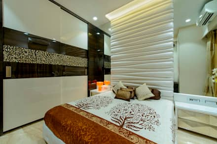 Parents Bedroom: modern Bedroom by Dzign thoughts