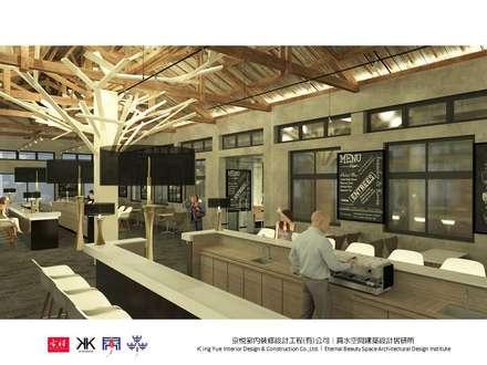 句點公益商店 :  飯店 by 京悅室內裝修設計工程(有)公司|真水空間建築設計居研所