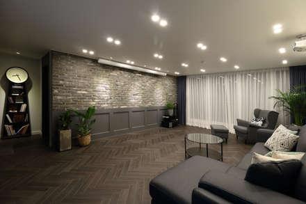 modern Living room by 와이피스페이스