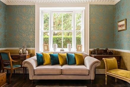 Living Room: classic Living room by James Rowland Photography