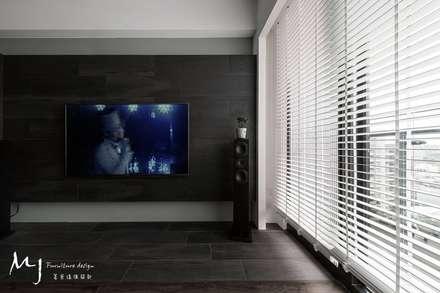 scandinavian Living room by 茗匠有限公司