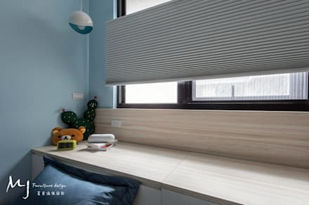 modern Bedroom by 茗匠有限公司