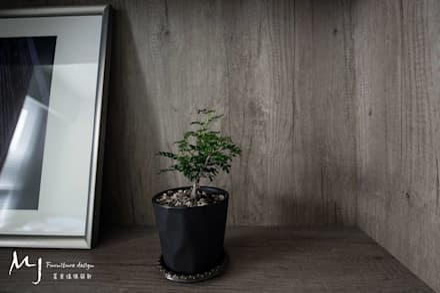 scandinavian Bedroom by 茗匠有限公司