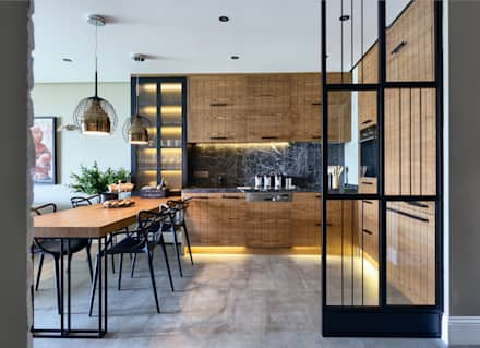 GUNDOGAN SUMMER HOUSE: modern Kitchen by Esra Kazmirci Mimarlik
