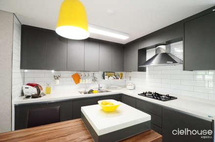 modern Dining room by 씨엘하우스