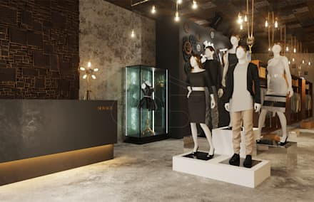 RETAIL STORE SOVAGE BRAND:  Commercial Spaces by Mary Lakzy