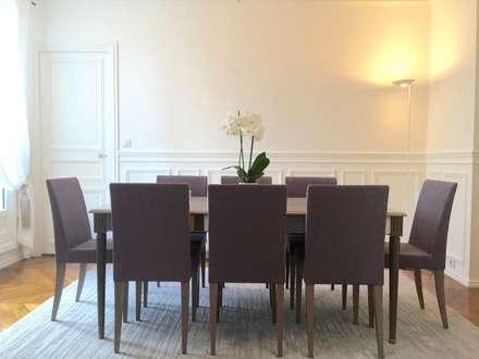 Rue de Grenelle: Salle à manger de style de style Moderne par Lichelle Silvestry