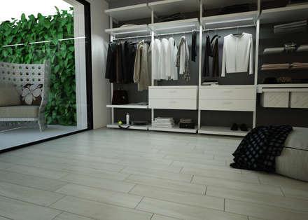 wardrobe: Spogliatoio in stile  di olivia Sciuto