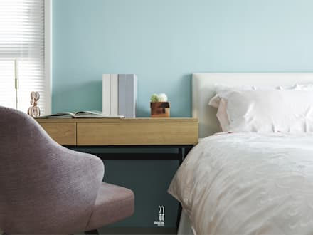 modern Bedroom by 竹村空間 Zhucun Design