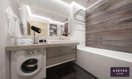 Квартира «Варна Болгария»: Ванные комнаты в . Автор – Студия дизайна 'Азбука Дом'