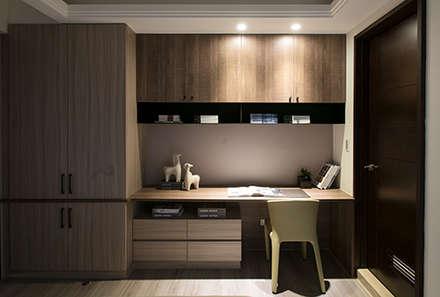 مكتب عمل أو دراسة تنفيذ 立禾空間設計有限公司