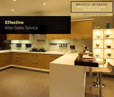 INTERIOR DESIGNERS IN FARIDABAD: Asian Kitchen By MAJESTIC INTERIORS