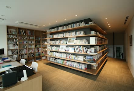 eclectic Study/office by 田辺計画工房
