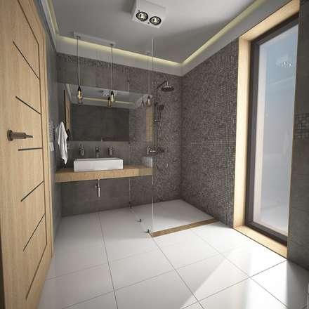 Propuesta 2: Baños de estilo moderno por José D'Alessandro