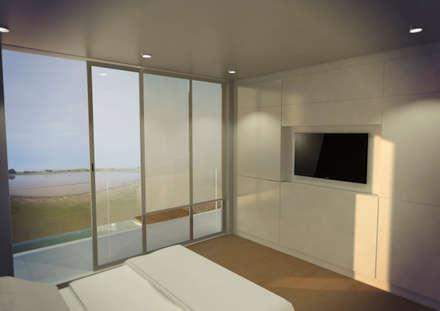 Dormitorio niños: Dormitorios de estilo moderno por Metamorfosis Arquitectura