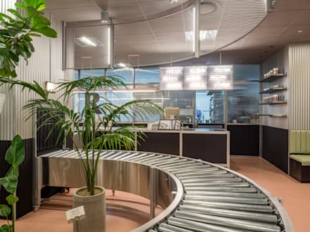 Our bakery, Jamsil Lotte Department Store: studio xsxl의  상업 공간