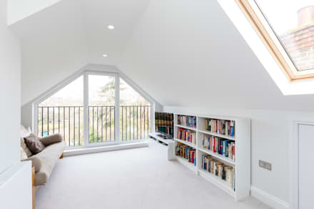 Vicarage Rd London SW14: modern Media room by VCDesign Architectural Services
