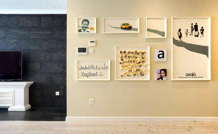 Căn hộ Tân Cổ Điển Lãng Mạn ở Thăng Long No1:  Hành lang, sảnh & cầu thang by Công ty cổ phần NỘI THẤT AVALO
