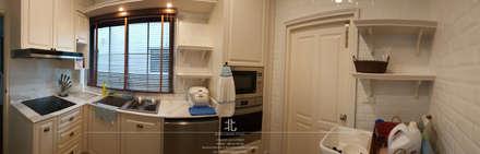 ภาพผลงานจริง พื้นที่ห้องครัว:  ห้องครัว by เหนือ ดีไซน์ สตูดิโอ (North Design Studio)