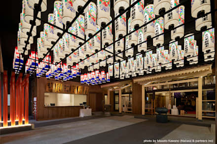 Edificios de oficinas de estilo  de 藤村デザインスタジオ / FUJIMURA DESIGIN STUDIO