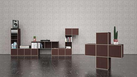 Modulares Regalsystem:  Bürogebäude von KGRUPPE