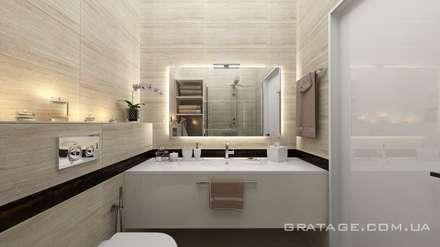 Бульвар Кучеревского: Ванные комнаты в . Автор – Gratage-Visual architecture interior