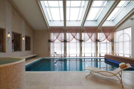 бассейн: Бассейн в . Автор – Архитектурное бюро 'Дом-А'