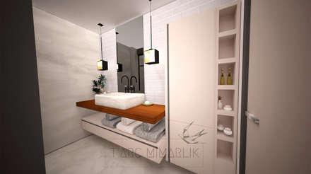 TARC İÇ MİMARLIK RESTORASYON TİC. LTD. ŞTİ. – Banyo- wc: minimal tarz tarz Banyo